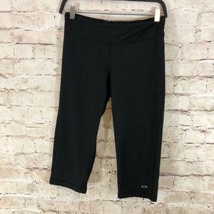 Women's champion black bike shorts medium